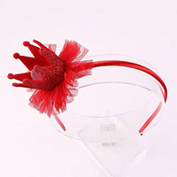 Unmengii Kids Baby Infant Crown Imperial Bling Head Wrap Headband Hairband Bowknot
