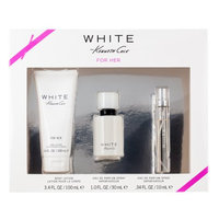 White 3 Piece Gift Set for Women 1 oz. EDP Spray by Kenneth Cole