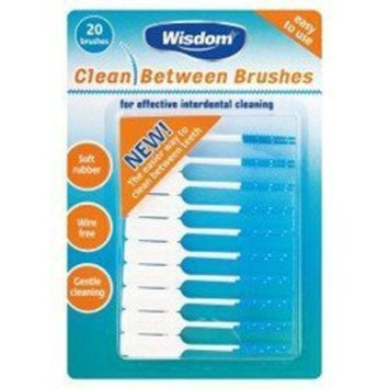 Wisdom Clean Between Interdental Brushes (20)