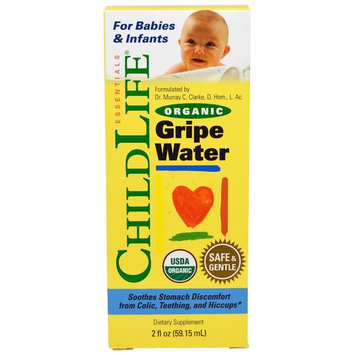ChildLife Organic Gripe Water for Babies and Infants, 2 Oz