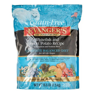 Evangers Low Grain Super Premium Whitefish and Sweet Potato Dry Dog Food