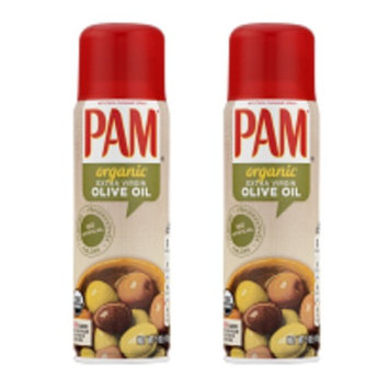 PAM Organic Olive Oil Cooking Spray, 5 Ounce (Pack of 2)