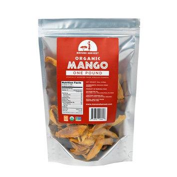 Mavuno Harvest Fair Trade Gluten Free Organic Dried Fruit, Mango, 1 Pound [Mango]