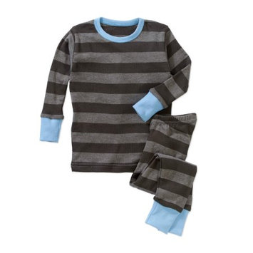 Baby Steps Newborn Baby Boy Long Sleeve 2-Piece Pajama Set