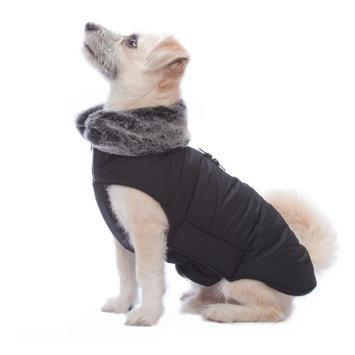 Dog Gone Smart Tamarack Puffy Dog Coat Black