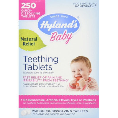 Hylands Hyland's Baby Teething Tablets 250 ct