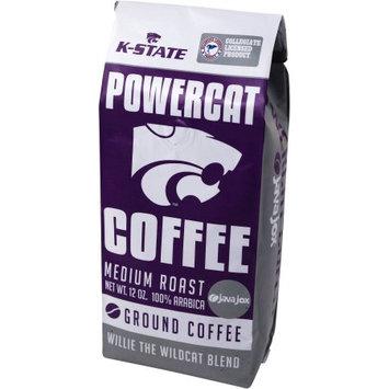 40 Days, Llc Java Jox K-State Powercat Coffee Willie the Wildcat Blend Ground Coffee, 12 oz
