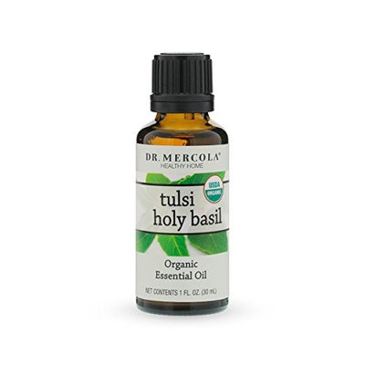 Dr. Mercola Healthy Home Essential Oil, Tulsi Holy Basil, 1 Oz