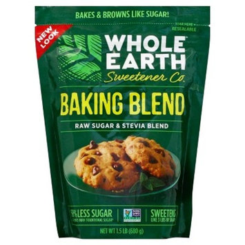 Whole Earth Sweetener Co. Baking Blend Raw Sugar & Stevia Blend, 1.5 LB
