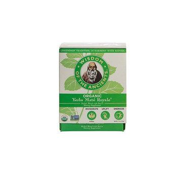 Wisdom of the Ancients Organic Yerba Maté Tea Bags, Royale, 1.1 Ounce