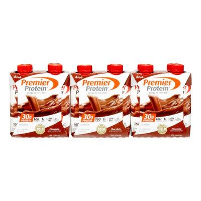 Powerbar Premier Protein Chocolate Protein Shake - 12 Count