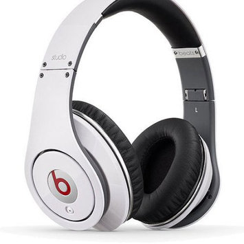 Beats by Dr Dre Studio Over Ear Headphones - White