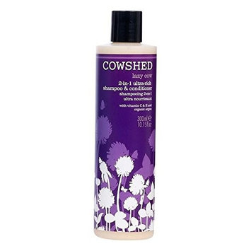 Cowshed Lazy Cow 2-in-1 Rich Shampoo & Conditioner 300ml - Pack of 2