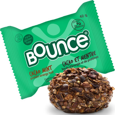 Bounce Cacao Mint Protein Energy Ball