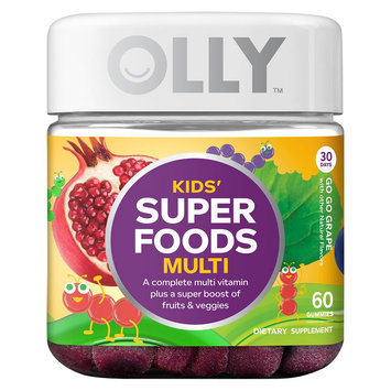 Olly Kids Super Foods Multivitamins - 60 Count