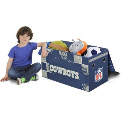 Idea Nuova NFL Dallas Cowboys Collapsible Storage Toy Trunk