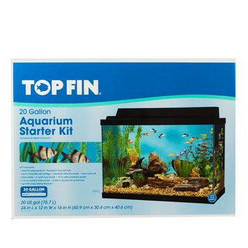 Top Fin® 20 Gallon Aquarium Starter Kit size: 20 gal