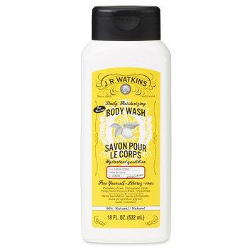 J.R Watkins Daily Moisturizing Body Wash - Lemon Cream 18 oz