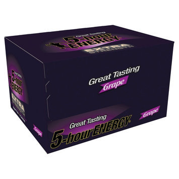 5 Hour Energy Extra Strength Grape Energy Drink (12-Pack) 113317