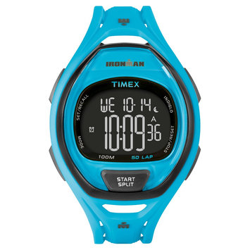 Target Timex Ironman Digital Sleek 50 Lap Digital Watch - Blue, Adult Unisex