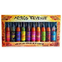 Aztecs Revenge 10-Pack Mexican Style Hot Sauces