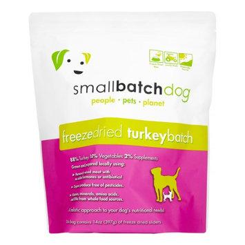 SmallBatch Freeze Dried Sliders for Dogs Turkey 14 oz Bag