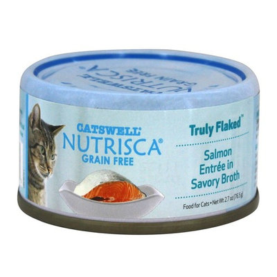 Truly Flaked Cat Food Salmon Entree in Savory Broth - 2.7 oz.