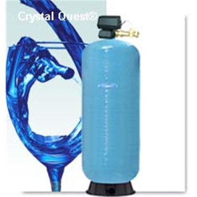 Crystal Quest CQE-CO-02056 Commercial-Industrial Granular Activated Carbon Water Filter System - 20 Cu. Ft