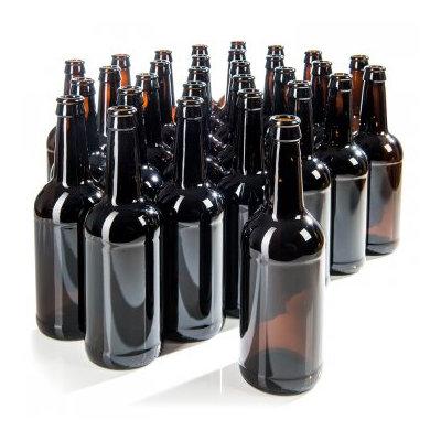 Beer Hawk Brown Bottle 500ml x 30 with caps