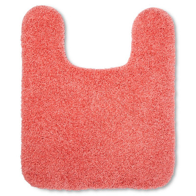 Room Essentials Contour Bath Rug - Georgia Peach