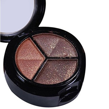 3 colors Professional Smoky Glitter Eyeshadow Cosmetic Pulison(TM) Fashion Natural Matte Eye Shadow Makeup