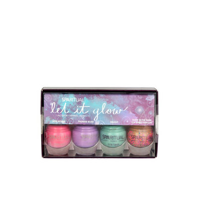 SpaRitual Let it Glow Mini Kit 4 piece
