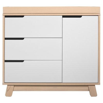 Babyletto Hudson 3-Drawer Changer Dresser, KD, Natural