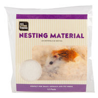 All Living Things Fluff N' Snuggle Small Animal Nesting Material