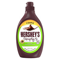 Hershey's Simply 5 Chocolate Syrup, 21.8 oz