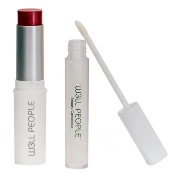 W3LL People Fall and Winter Color Pop Lip + Cheek Set - Creamy Crimson, Red