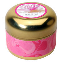 Soho Brights Tin Candle Peony Petals - 15.3 oz