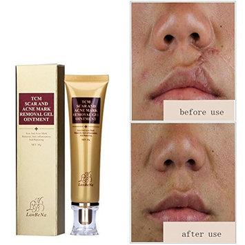ENFLNI Acne Scar Removal Cream Skin Repair Face Cream Acne Spots Acne Treatment Blackhead Whitening Cream Stretch Marks 30ml
