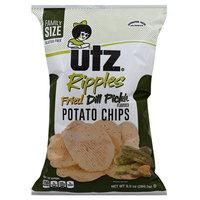 Utz Fried Dill Pickle Potato Chips 9.5 oz