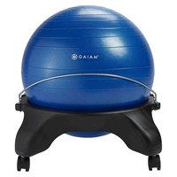 Gaiam Backless Classic Balance Ball Chair, Blue