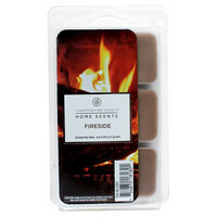 Home Scents Wax Melts - Fireside, Yellow