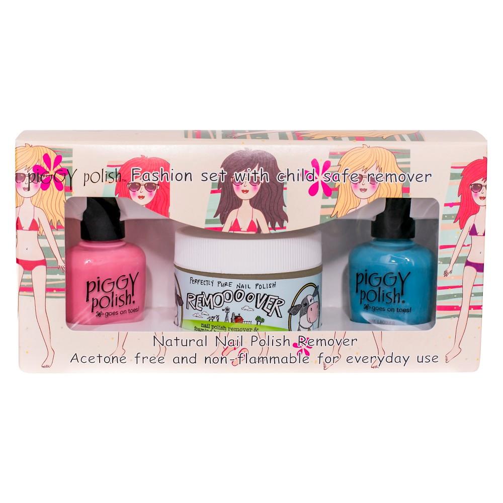 Piggy Polish 3 ea Manicure/pedicure Polish Kit