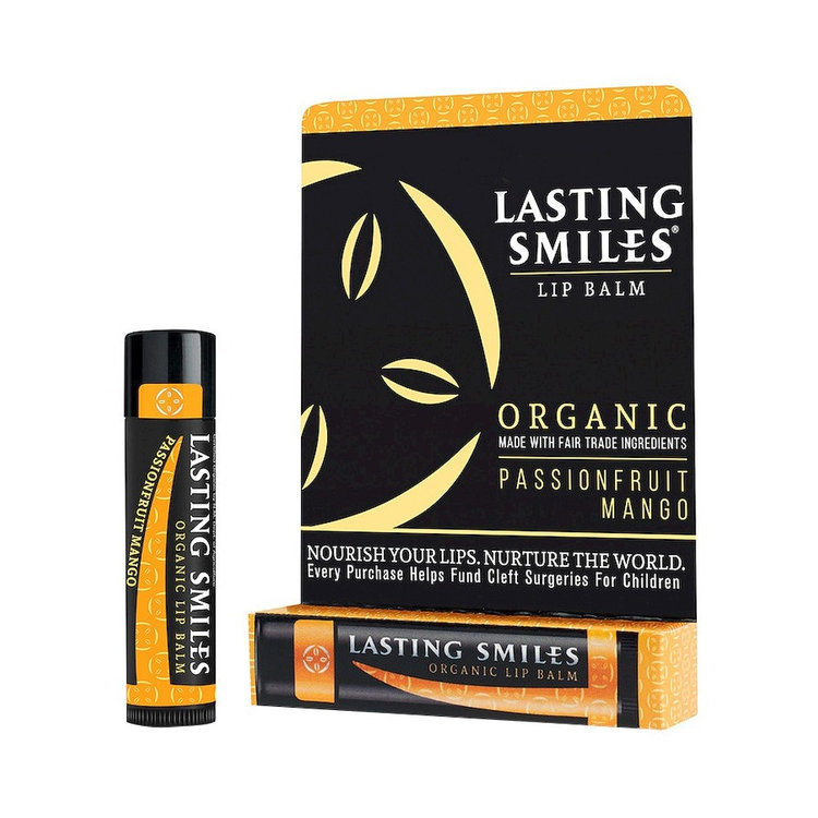 Lasting Smiles Passion fruit Mango Organic Lip Balm - 0.15 oz