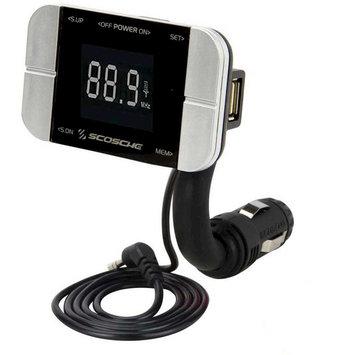 Scosche Digital FM Transmitter for Mobile Phones & Tablets (FMTD3PRO), Black
