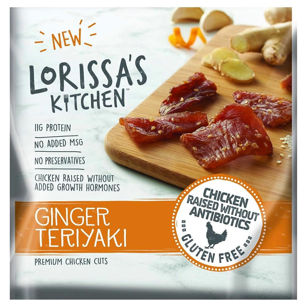 Lorissa's Kitchen Ginger Teriyaki Chicken Jerky 2.25oz
