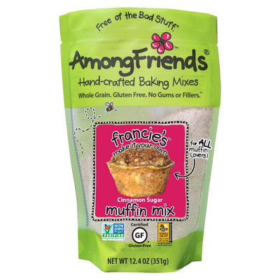 Among Friends Gluten Free Cinnamon Sugar Muffin Mix 12.4 oz