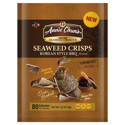 Annie Chun's Korean-Style Barbeque Seaweed Chips - 1.27 oz