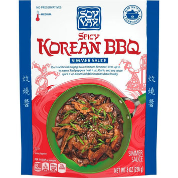 Soy Vay Simmer Sauce Spicy Korean Bbq 8 oz