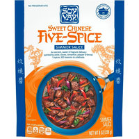 Soy Vay Simmer Sauce Sweet Chinese Five Spice 8 oz