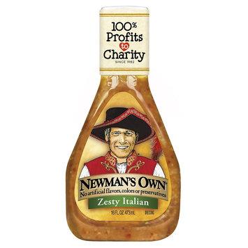 Newman's Own Zesty Italian Dressing 16 Fl Oz